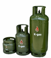 Image: K-gas cylinders