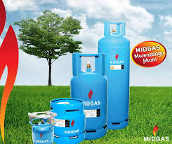 Image: Midgas cylinders