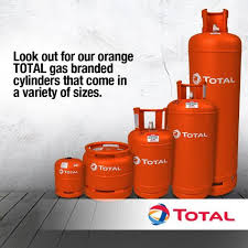 Image: Total gas cylinders