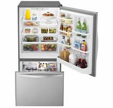 Image: Bottom frezer fridge