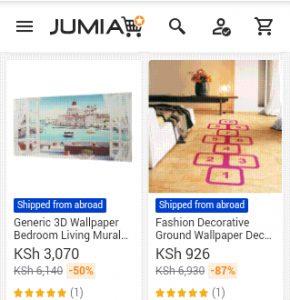 jumia wallpaper screenshot