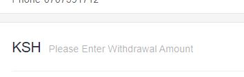 withdraw page