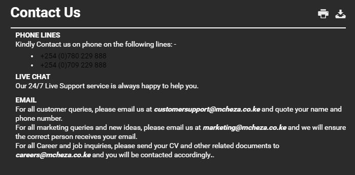 customer care contact