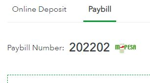Sportybet paybill number