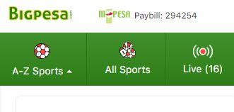 Bigpesa paybill number