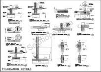 structural drawing example