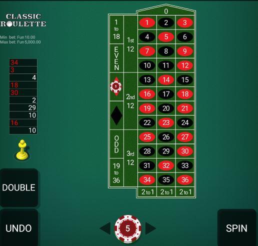bangbet roulette prediction board