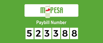 Mpesa paybill number