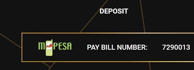 captains bet paybill number