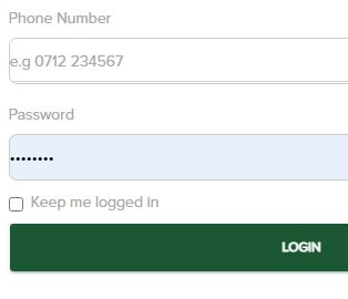 log in fasobet page