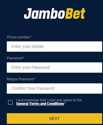 jambobet registration page