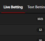 live betting betsafe