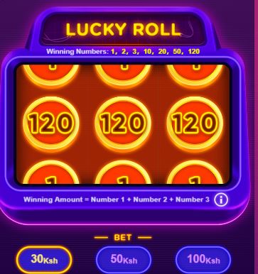 lucky roll game