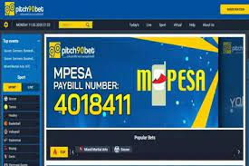 mpesa paybill number pitch90bet