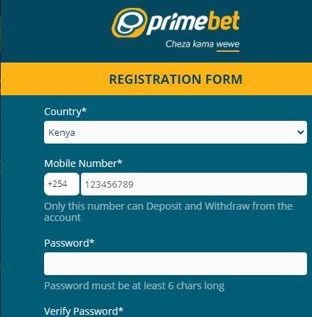 prmebet registration form